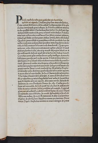 Illuminated initial in Johannes Chrysostomus: Homiliae super Johannem