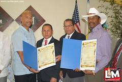 Recibimineto delegación condado del Bronx