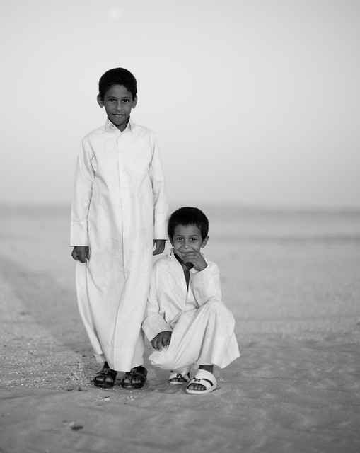 Brothers of the desert. by Thorsten Overgaard