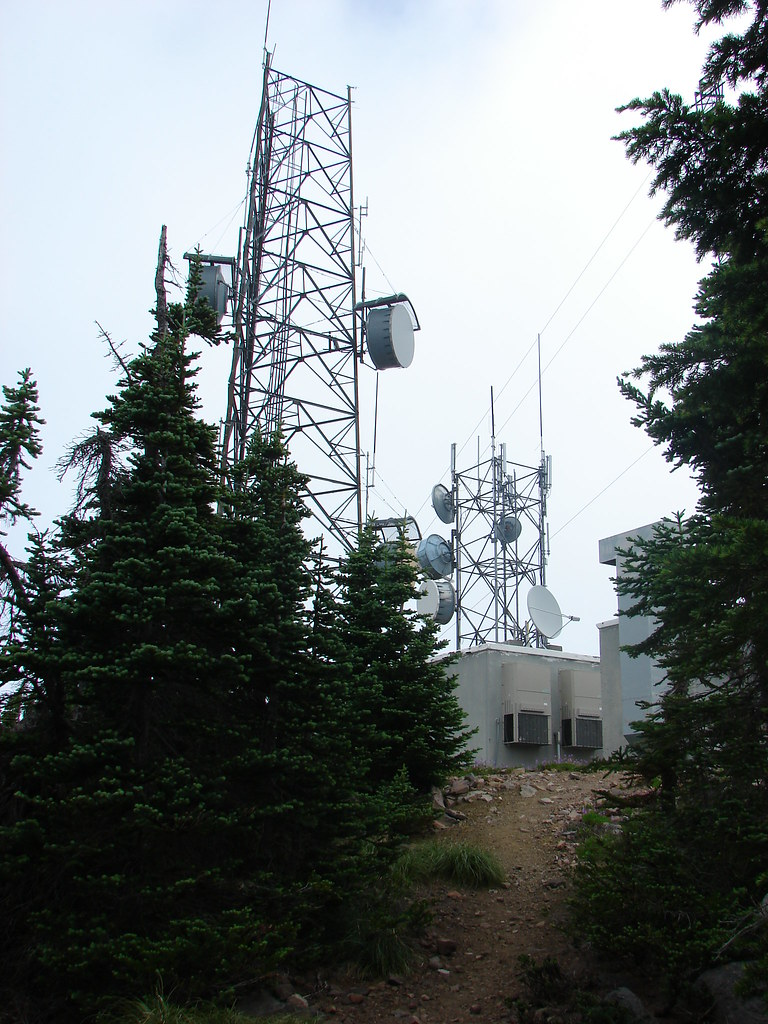 Towers on Mt. Defiance