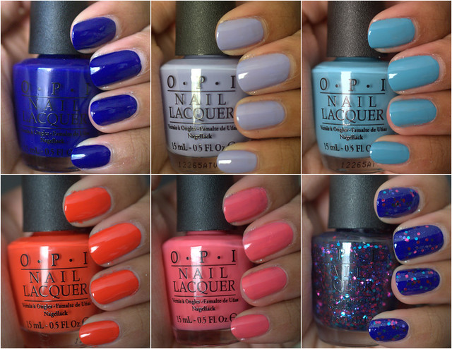 OPI Euro Centrale Collection for Spring/Summer 2013 - Part I