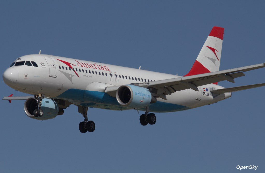 Austrian Airlines Airbus A320-214 OE-LBS (cn 1189)