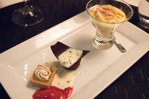 Trio of Desserts @ Yellow Door Bistro