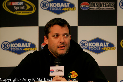 Tony Stewart's media availability Las Vegas Motor Speedway 2013