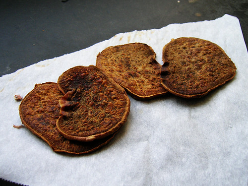 burnt chips