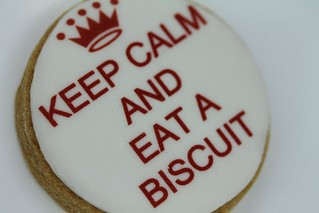 Discuits - Keep calm and eat a biscuit
