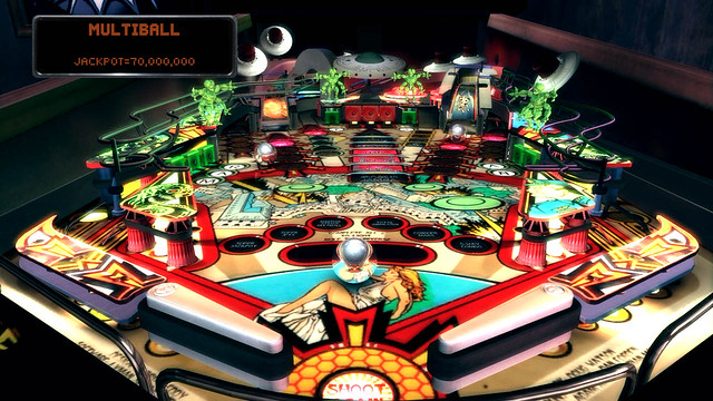 The Pinball Arcade: Attack From Mars