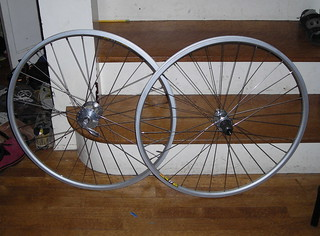 New wheelset