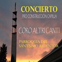Cartel del concierto del Coro Altri Canti