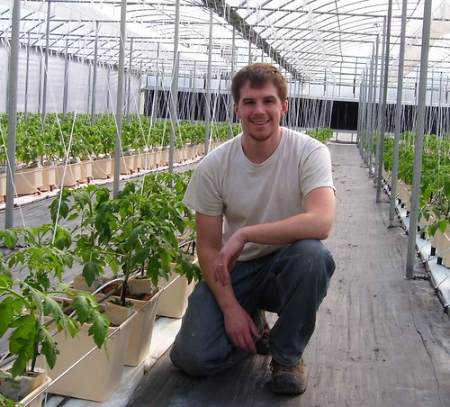 Chris Williams is the operator of a BrightFarms greenhouse in Yardley,Pa., that will provide fresh produce to a supermarket only a half a block away.