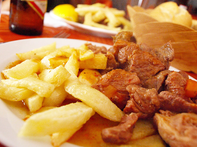 Goat and Chips