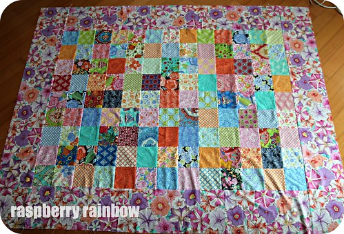Grandma's quilt.
