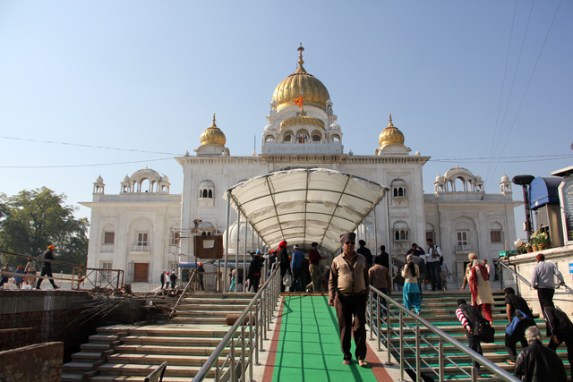 Gurdwara Bangla Sahib (Sikh Temple)