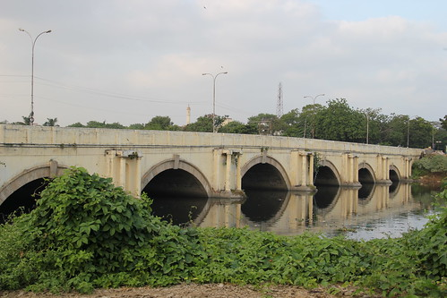 Periyar bridge over the Cooum
