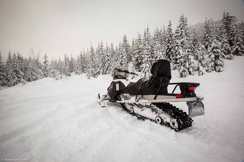 snowmobling whistler