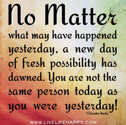 Positive Quotes Today Is A New Day Archidev
