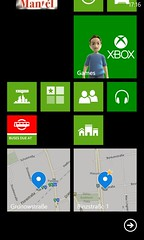 WP8 pinning maps to home screen