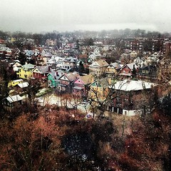 View of Clifton from my doctor's office. #cincinnati