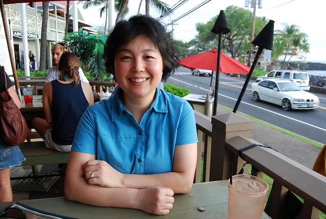 Chunlin at Humpy's