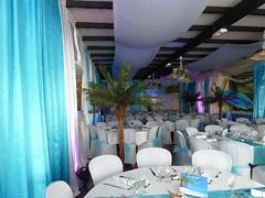 Déco tentures salle mariage, décoratrice mariage, paris et seine et marne