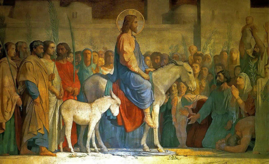 Christ's Entry into Jerusalem Hippolyte Flandrin-1842
