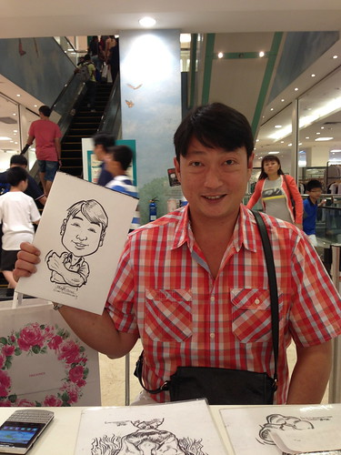 caricature live sketching for Takashimaya Good Friday Special - 9