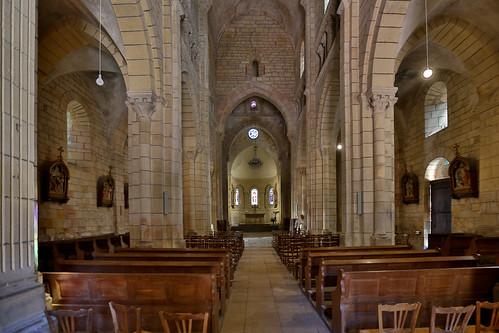 Semur-en-Brionnais-Romanische Kirche