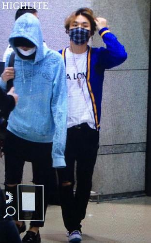 BIGBANG arrival ICN Seoul from Taiwan 2015-09-28 (23)