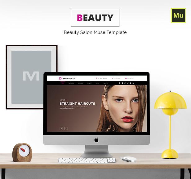 Beauty Salon Muse Template  - 5