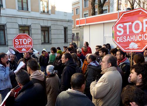 Concentración #StopRepresionGuepresionGu #TomaBBVA #TodosconMaria