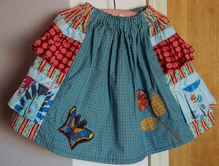 Bo Peep Skirt--the directions are from Seams to Me by Anna Maria Horner
