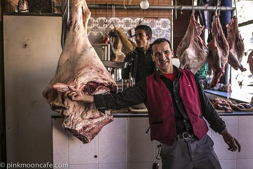 Butchers on the Tichka Pass