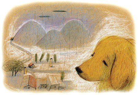「奮起湖的哭聲」插圖-蘇力卡繪圖