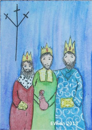 6-365 ATC 2013 Three Kings