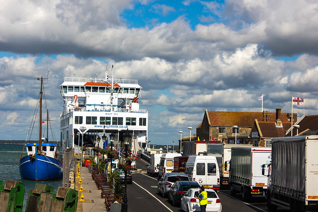 Ferry entre Lymington y Yarmouth