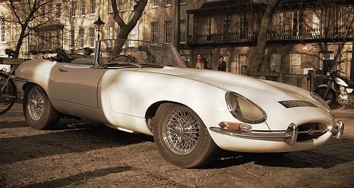E Type Jaguar by Welsh Harlequin
