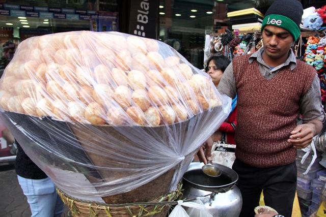 My pani puri vendor in Kolkata, India