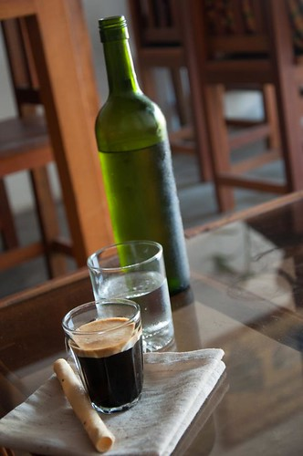 Double espresso- photo courtesy of John Thompson