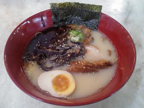 Tonkotsu Mayu Ramen