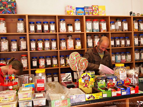 Candy shop, Gort, County Galway, Ireland