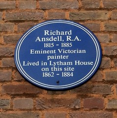 Photo of Richard Ansdell blue plaque