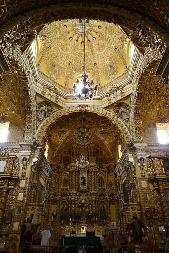 Iglesia de San Francisco Acatepec - Acatepec, Puebla, Mexico