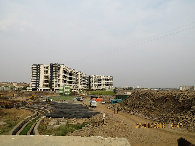 Site of Trinity Towers & Gera's GreensVille SkyVillas Kharadi Pune