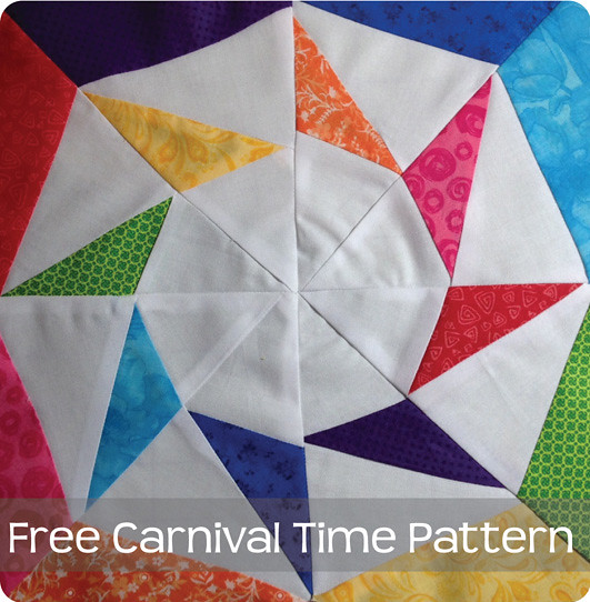 Free Quilt Block Design Program : Free Carnival Time Quilt Block Pattern Flickr - Photo Sharing!