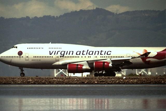 Photo:Boeing 747-400 Virgin Atlantic