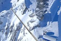 Visutý most na Titlisu: adrenalinový pohled na Alpy