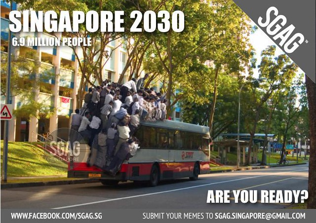 How to ride a bus in 2030 Singapore.