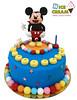 Tarta fondant Mickey 2013