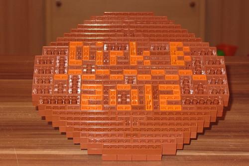 dirks LEGO globe - closeup 10 signature