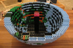 dirks LEGO globe - building up 10